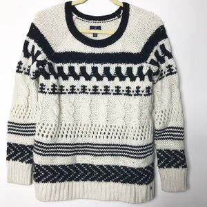 American Eagle Nordic Chunky Knit Sweater